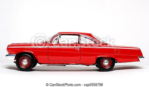 Classic 1962 US car - csp0559798
