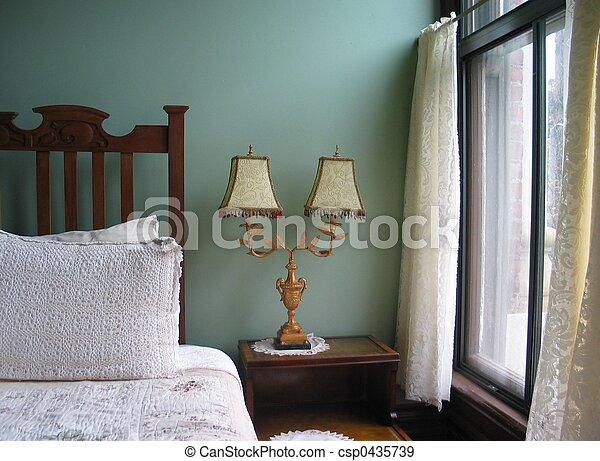 Classic Bedroom - csp0435739