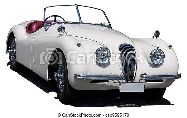 Classic British Sports Car - csp9595170