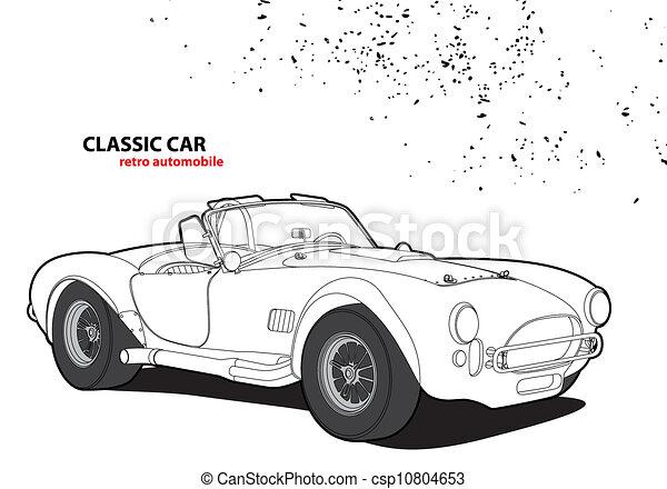 Classic car - csp10804653