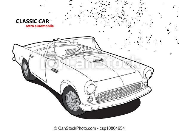 Classic car - csp10804654