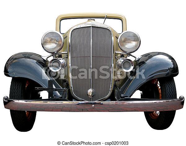 Classic Car on White - csp0201003