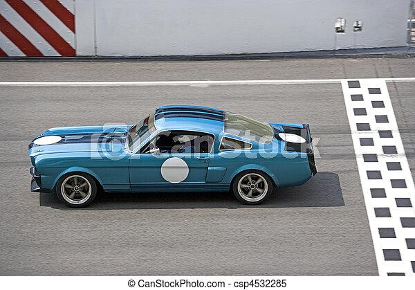 Classic Car Race - csp4532285