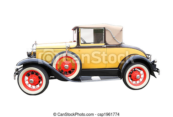 Classic Car - csp1961774