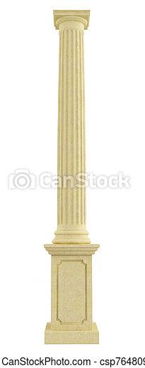 Classic column on pedestal - csp7648097