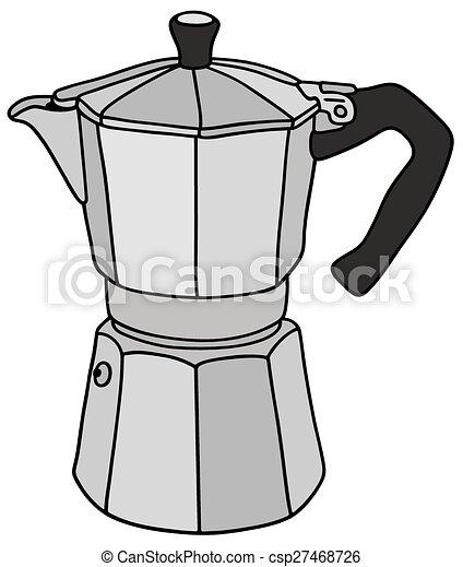 Classic espresso maker - csp27468726