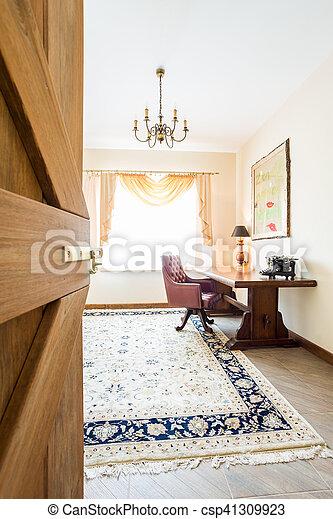Classic fome office interior - csp41309923