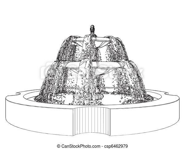 Classic Fountain - csp6462979