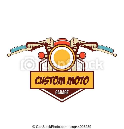 Classic Motorcycle Logo