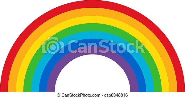 Classic Rainbow - csp6348816
