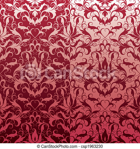 Classic Seamless Floral Wallpaper - csp1963230