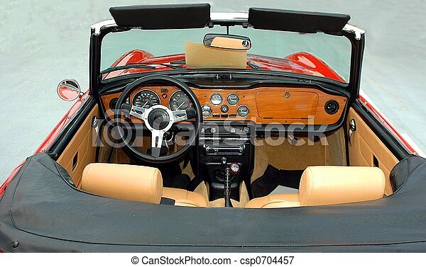Classic Sports Car - csp0704457