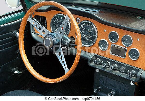 classic sports car - csp0704456
