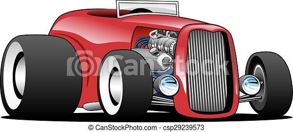 Classic Street Rod Hi Boy Roadster  - csp29239573