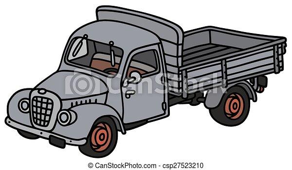 Classic Trucks Clip Art