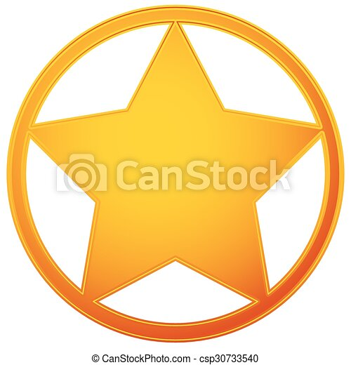 classic western sheriff badge sheriff star vector eps vector rh canstockphoto com sheriff badge vector art sheriff badge vector black