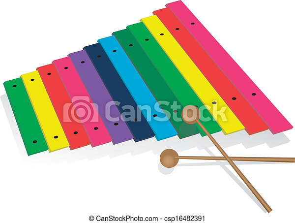 classic xylophone option musical instrument xylophone eps rh canstockphoto com xylophone clipart free xylophone clipart images