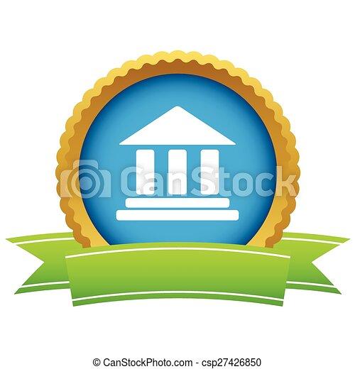 Classical building icon - csp27426850