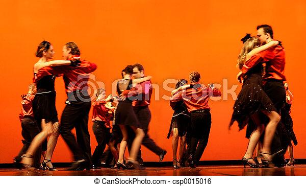Classical Dancers - csp0015016