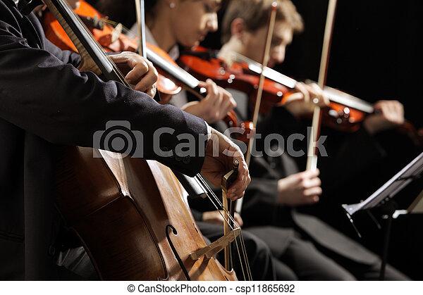Classical music concert - csp11865692
