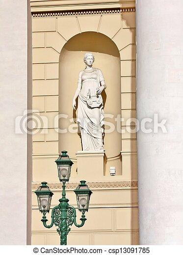 Classical sculpture - csp13091785