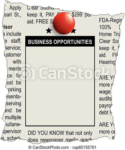 classifieds, negócio, oportunidades - csp65155761