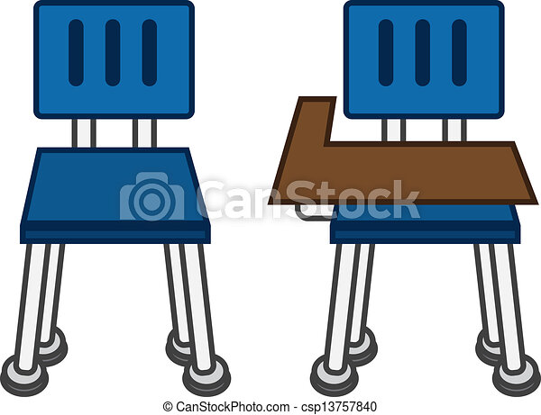 classroom desk drawing. classroom chair front - csp13757840 desk drawing o