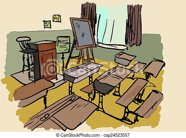 classroom - csp24523557