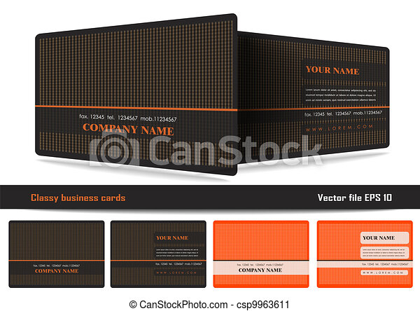 Classy business cards for more business cards designs please visit classy business cards csp9963611 reheart Image collections