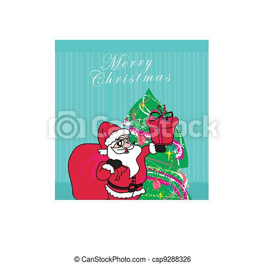 Santa Claus de Navidad - csp9288326
