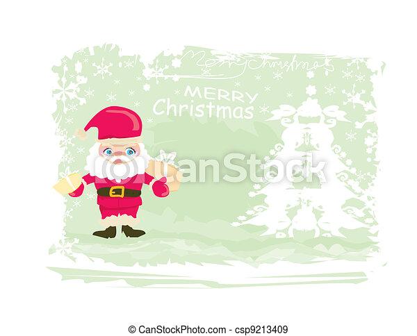 Santa Claus de Navidad - csp9213409