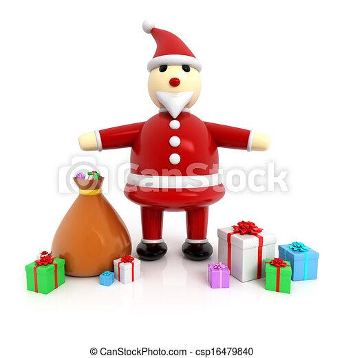 3. Weihnachtsmann - csp16479840