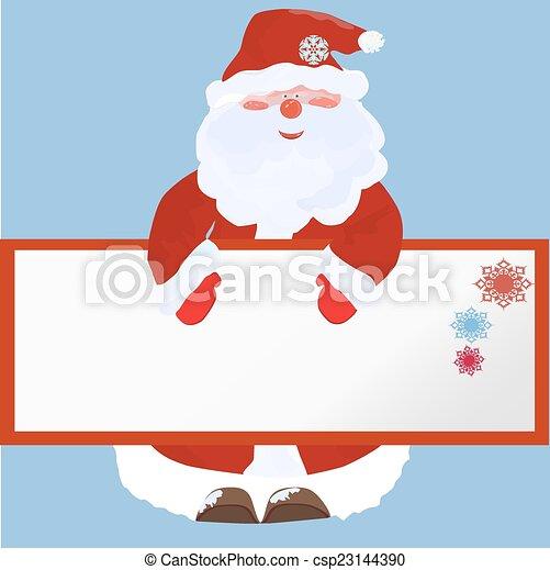 claus, santa - csp23144390