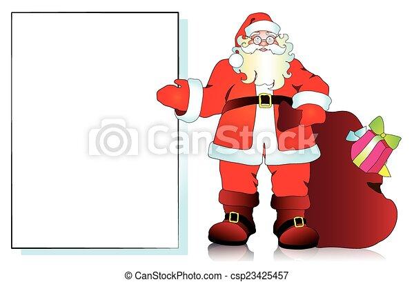 claus, santa - csp23425457