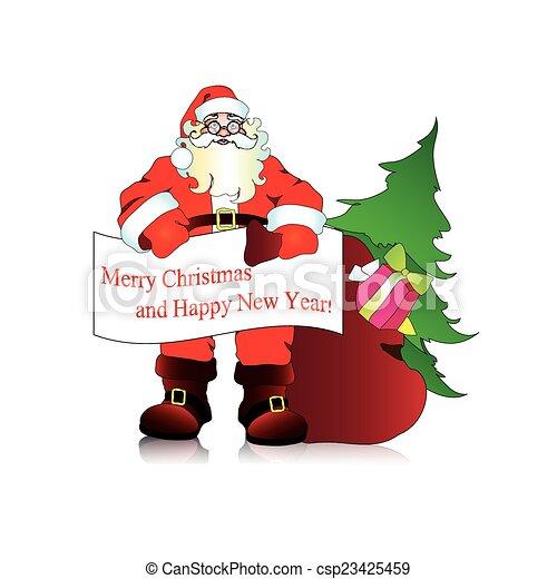 claus, santa - csp23425459