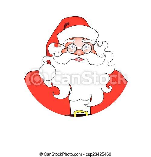 claus, santa - csp23425460
