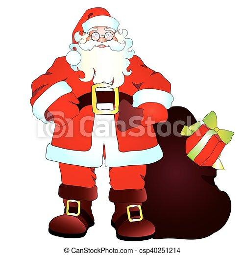 claus, santa - csp40251214