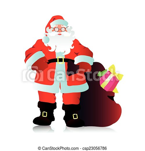 claus, santa - csp23056786
