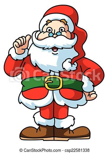 claus, santa - csp22581338