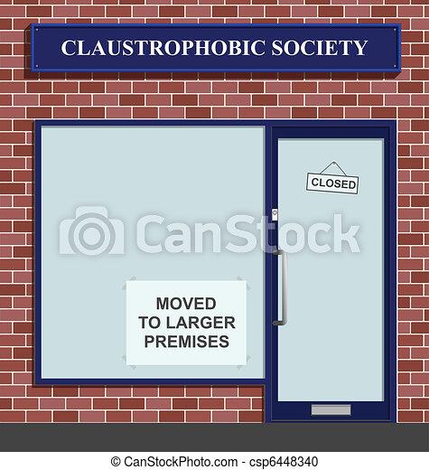 Claustrophobic Society  - csp6448340