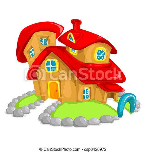 Clay House - csp8428972