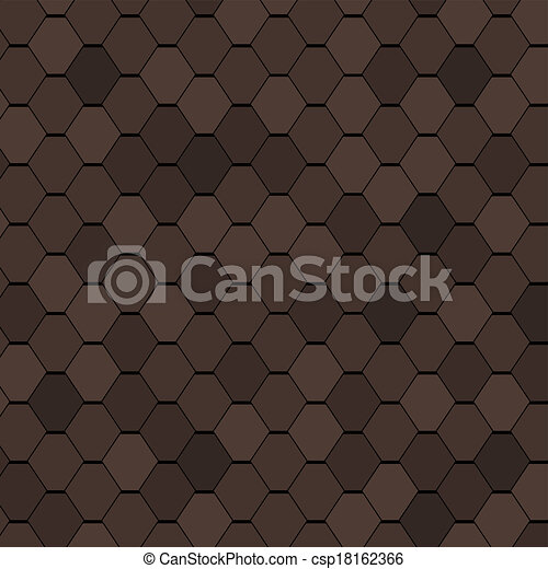 Clay Roof Tiles Seamless Texture. - csp18162366