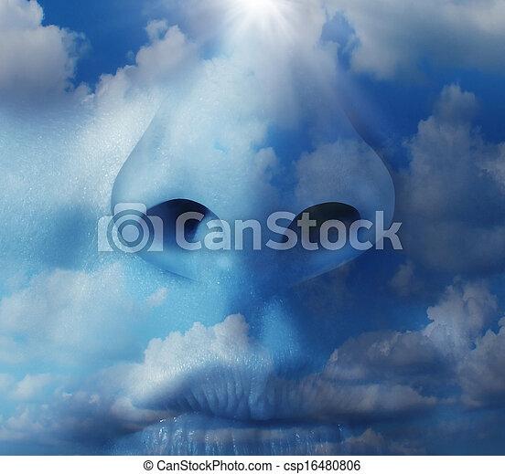 Clean Air - csp16480806