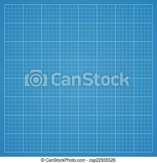 Clean blueprint background. - csp22935526