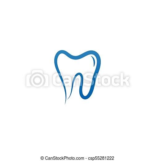 Clean dental tooth logo design template clean dental tooth logo design template csp55281222 maxwellsz