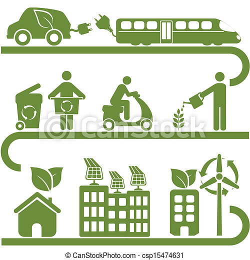 Clean energy and green environment - csp15474631