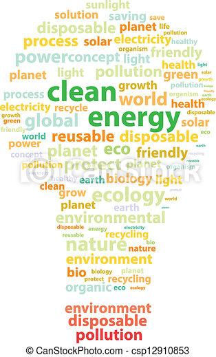 Clean Energy - csp12910853
