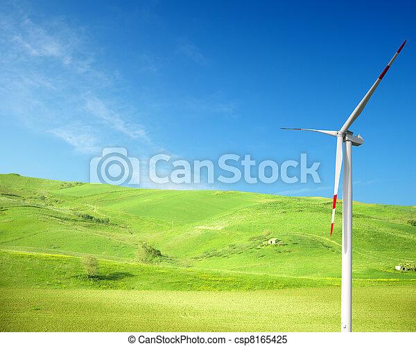 Clean energy concept  - csp8165425
