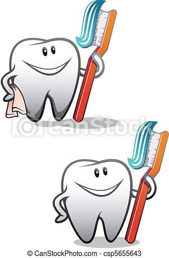Clean teeth - csp5655643