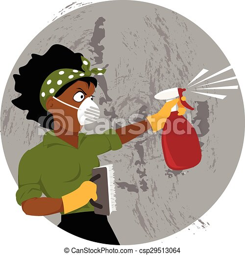 Cleaning a house - csp29513064